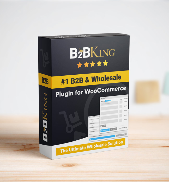 B2BKing Company Credit - WooCommerce Line of Credit System (Add-on) - 2
