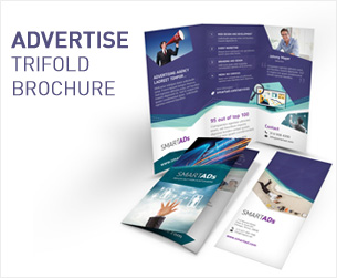 Media and Communication Trifold Brochure - 3