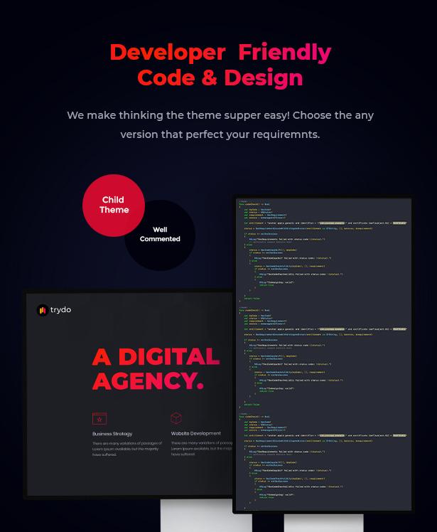 Trydo v1.0.0-Creative Agency&Portfolio WordPress主题插图30