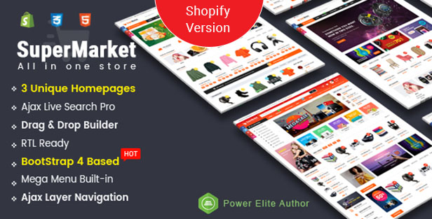Supermarket - Shopify Theme