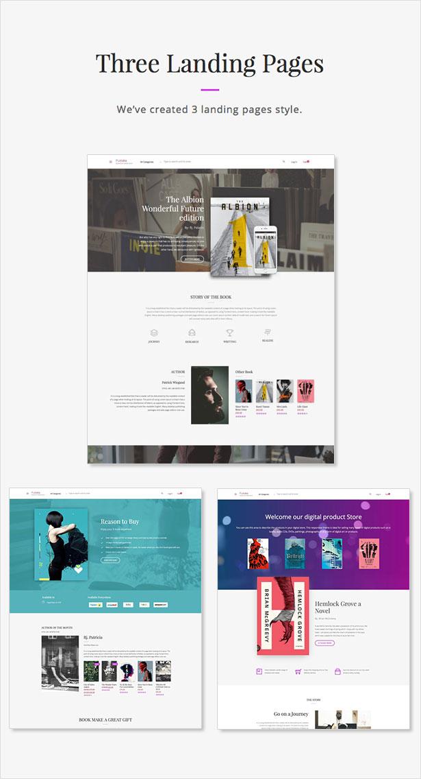 Pustaka - WooCommerce Theme For Book Store - 6