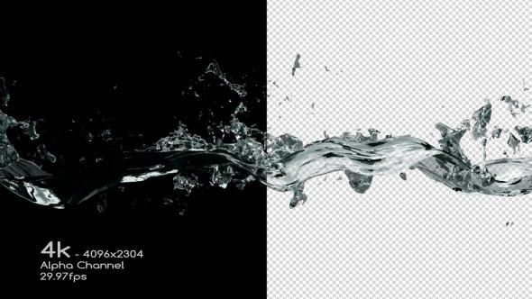 Water Drop Splash Logo - 51