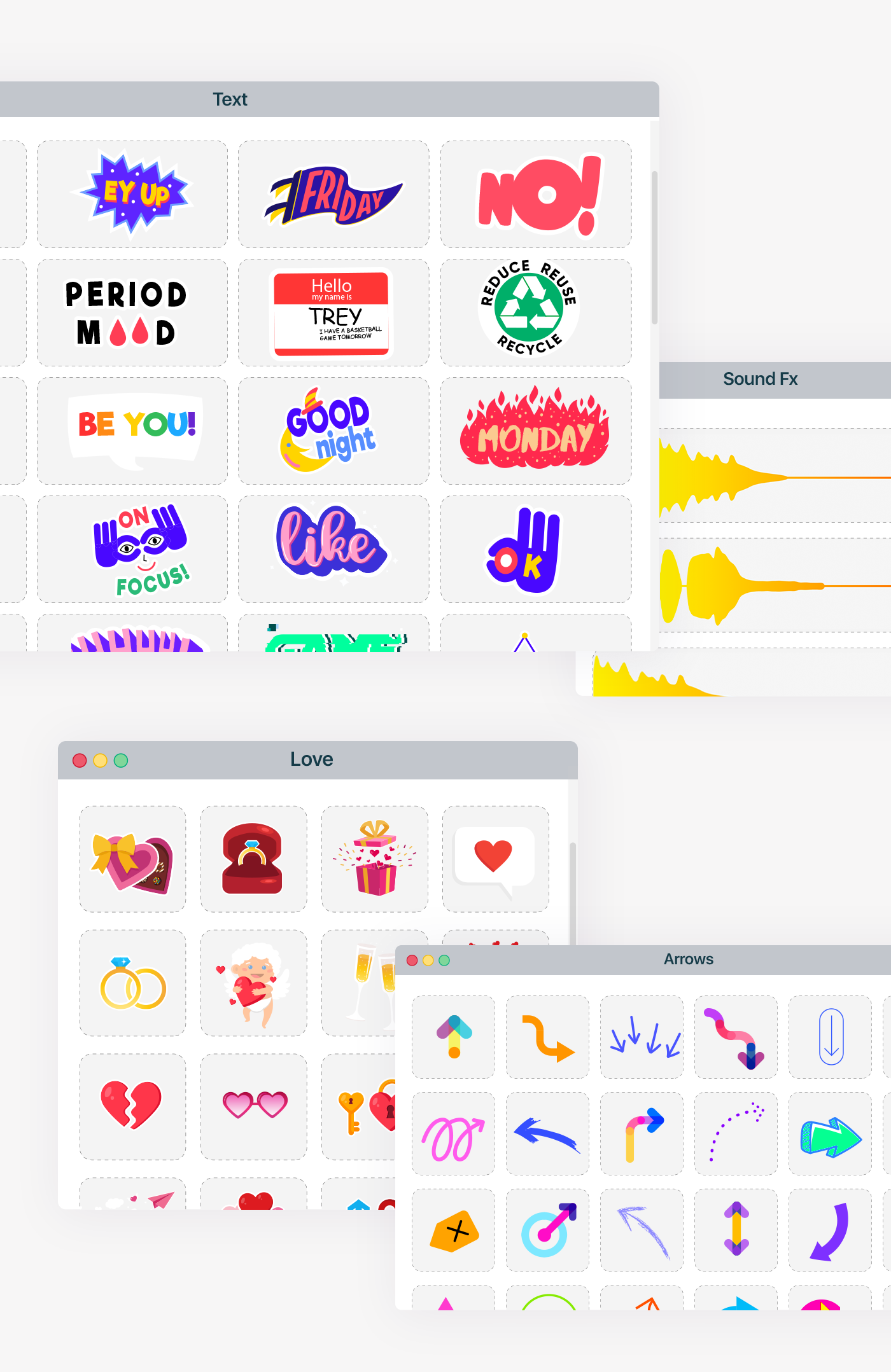 Live Stickers Library - 13