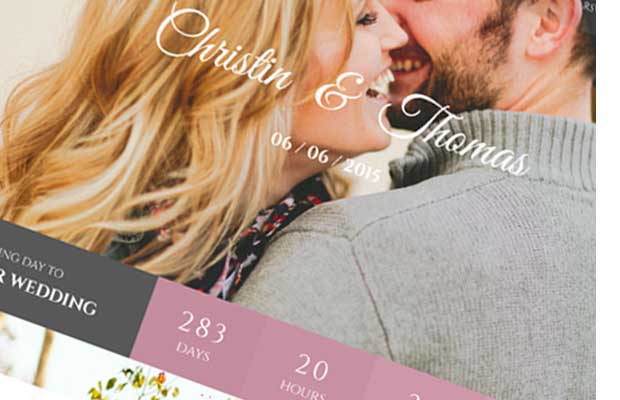 Wedding Couple - Love Page For Wedding Cerimony - 2