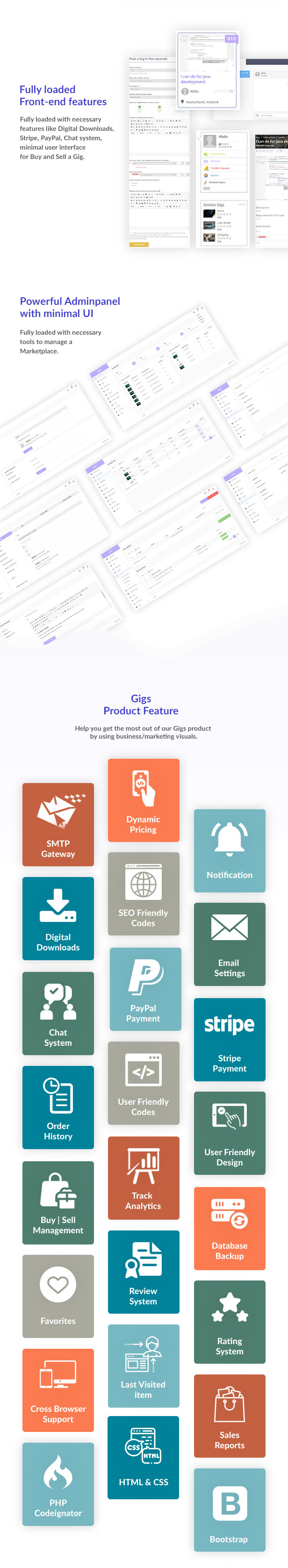Gigs - Service Marketplace