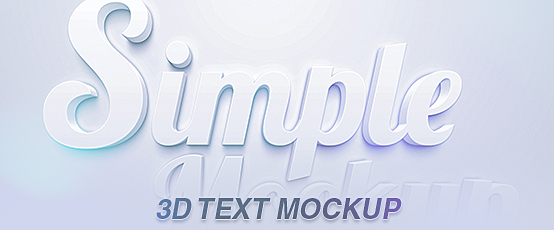 Clean3_DText_Mockup