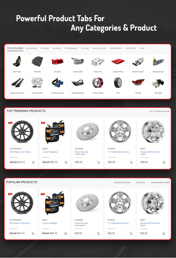 Edmart - Premium Auto Parts Prestashop Theme