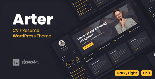 Arter WordPress Theme