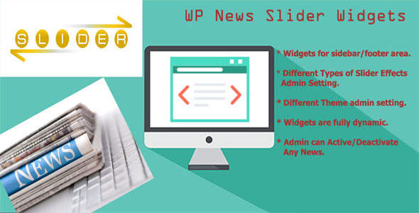 WP News Slider Widgets Pro - 3