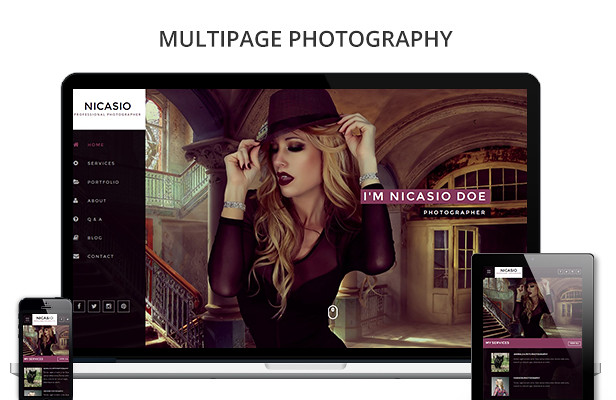 Nicasio Creative Muse Template - 6