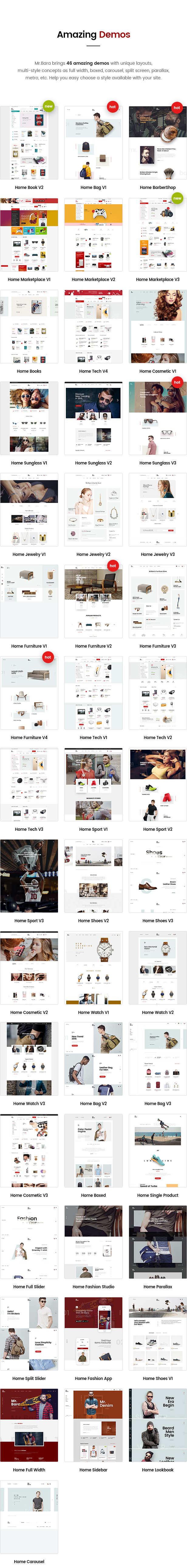 Mr.Bara - Responsive Multi-Purpose eCommerce WordPress Theme - 7