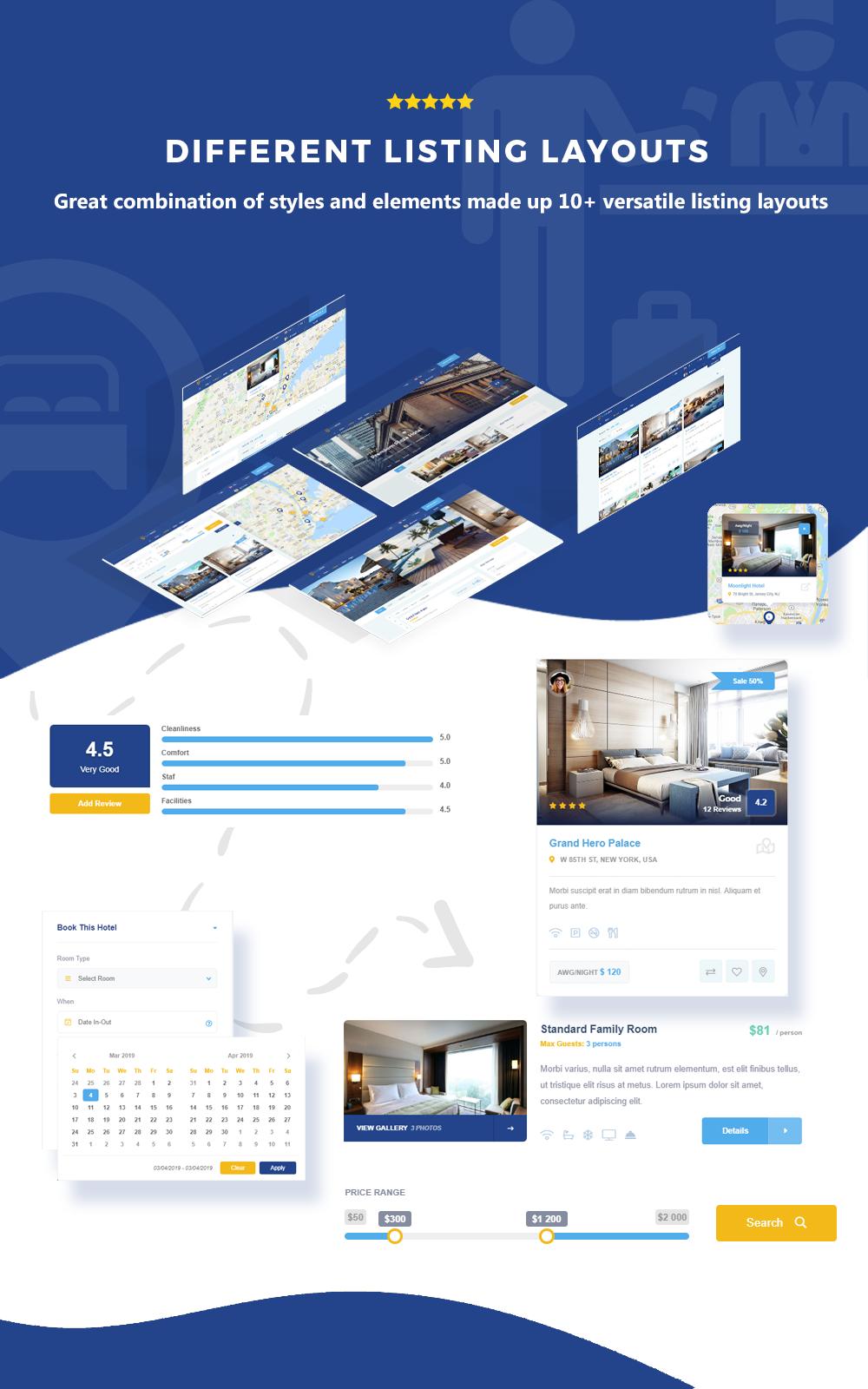 EasyBook – Hotel & Tour Booking WordPress Theme - 8