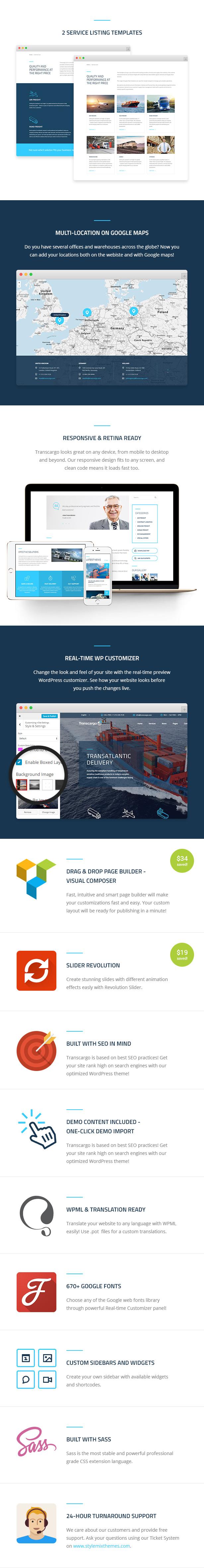 Transcargo - Transportation WordPress Theme for Logistics - 4