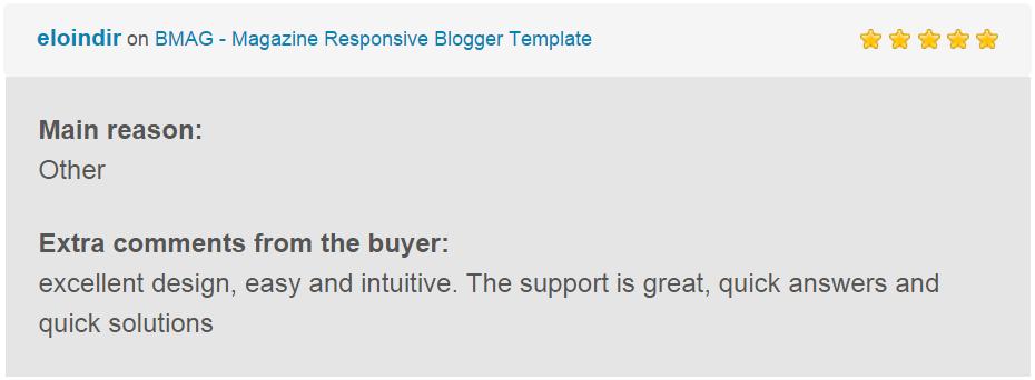 BMAG - Magazine Responsive Blogger Template - 26