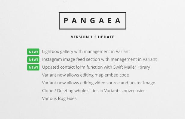 Pangaea 1.2