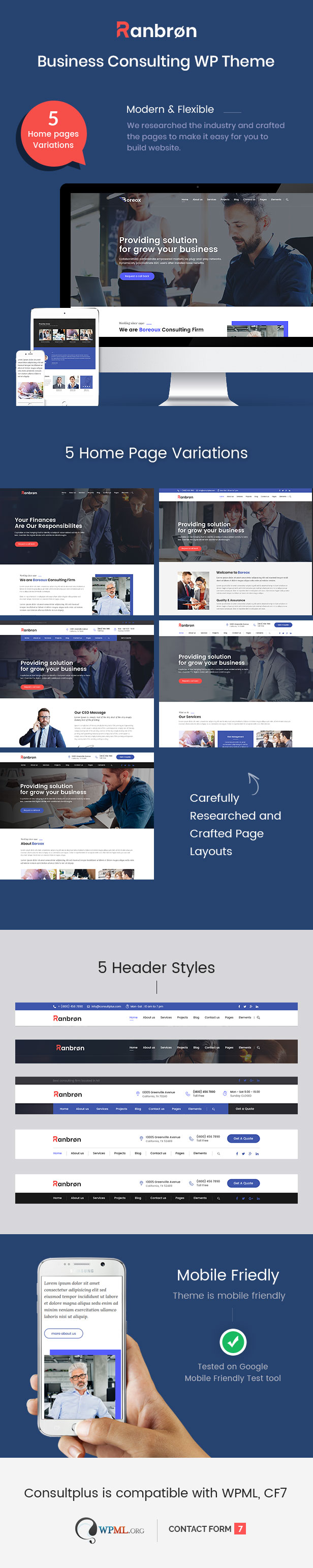Ranbron - Business and Consulting WordPress Theme - 2