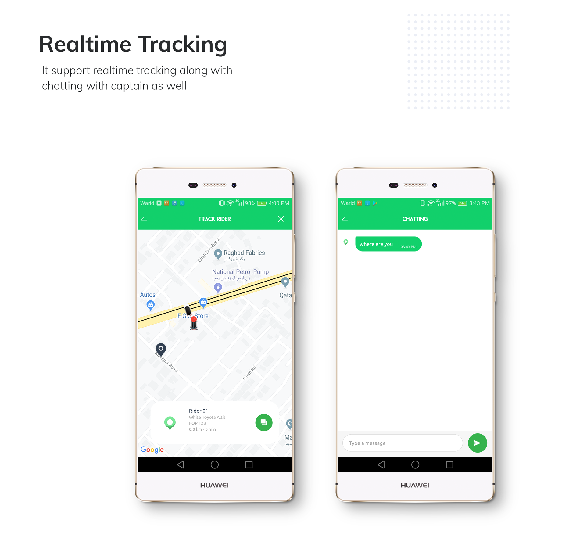 Kareem Taxi App - Cab Booking Solution + admin panel - 5