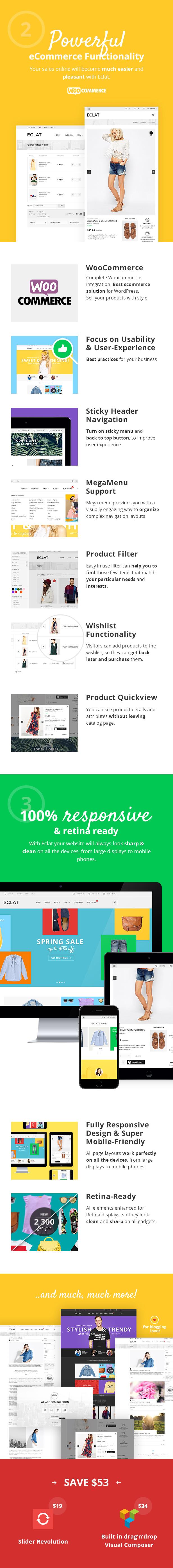 Eclat - Responsive Multipurpose WooCommerce Theme