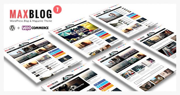 maxblog WordPress Theme