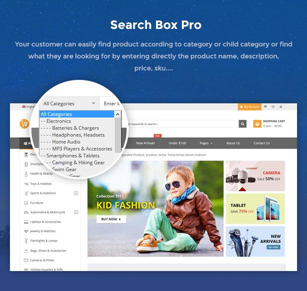 Search box pro