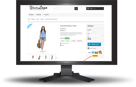 Prestashop Request a Quote - 6