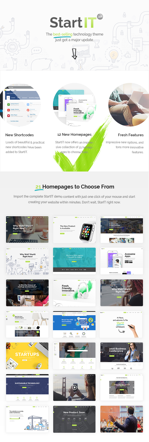 Startit - A Fresh Startup Business Theme by Select-Themes ...