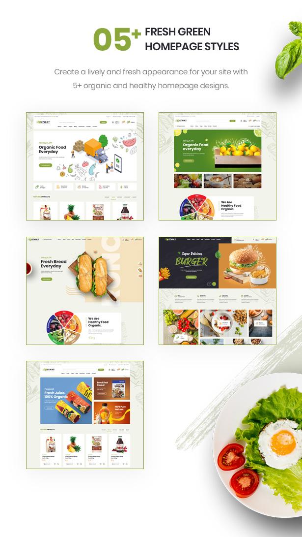 Efway - Food Store eCommerce Prestashop Theme