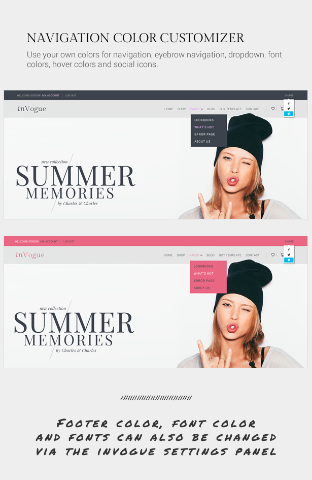 inVogue - WordPress Fashion Shopping Theme - 12
