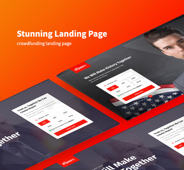 modern political wordpress theme