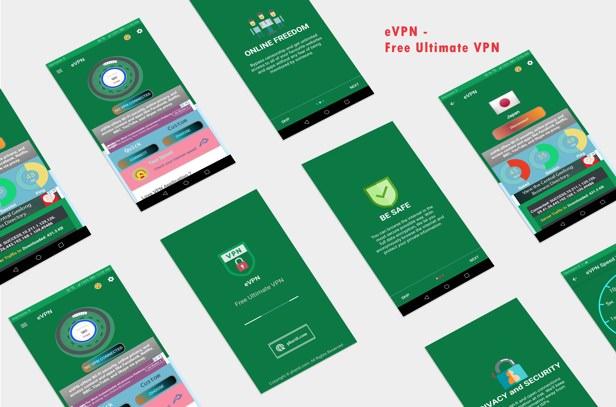 eVPN - Free Ultimate VPN | Android VPN, Billing, Phone Booster, Admob / Push Notification - 6