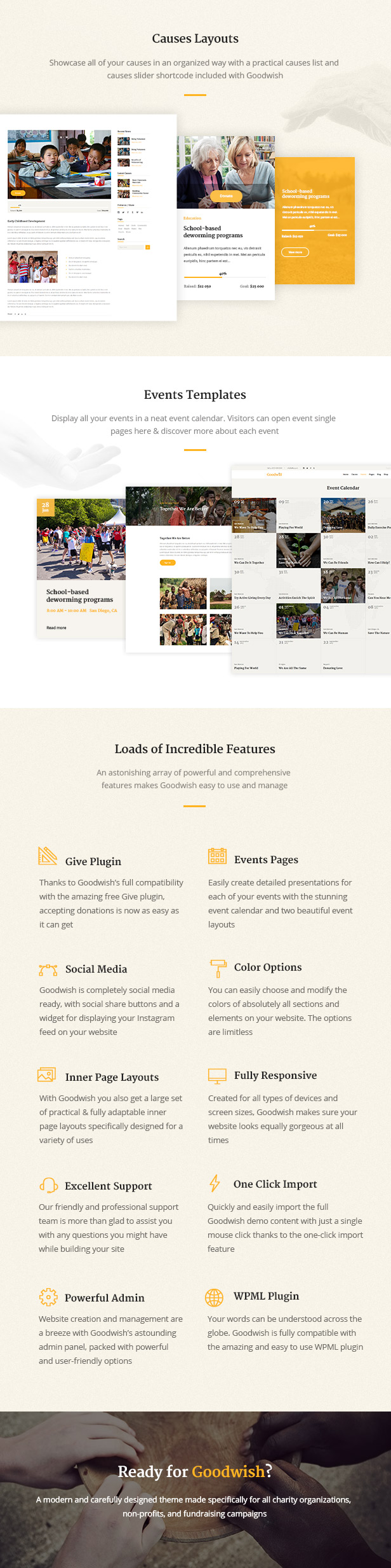Goodwish - Charity, Nonprofit and Fundraising Theme - 3