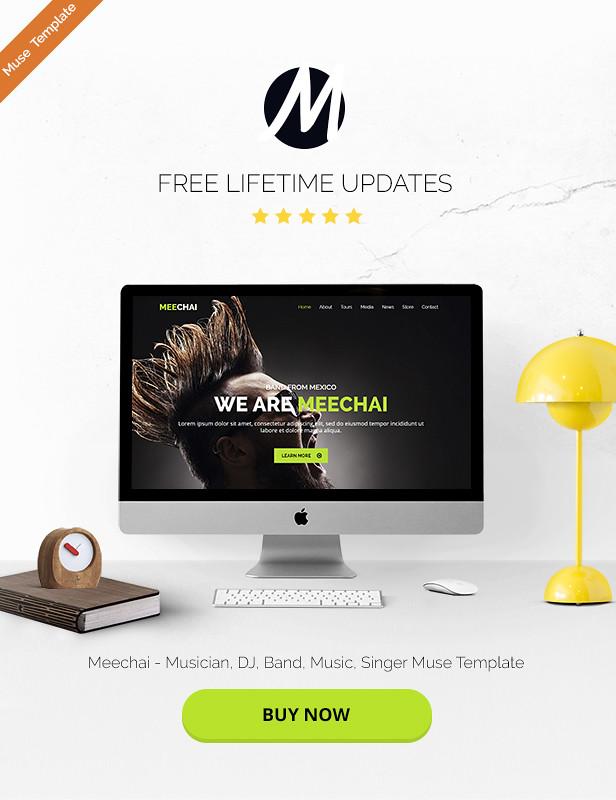 Meechai - Musician, DJ, Band, Music, Singer Muse Template