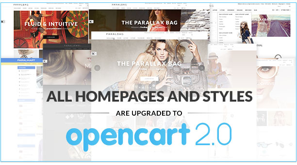 Opencart 2.0 Ready