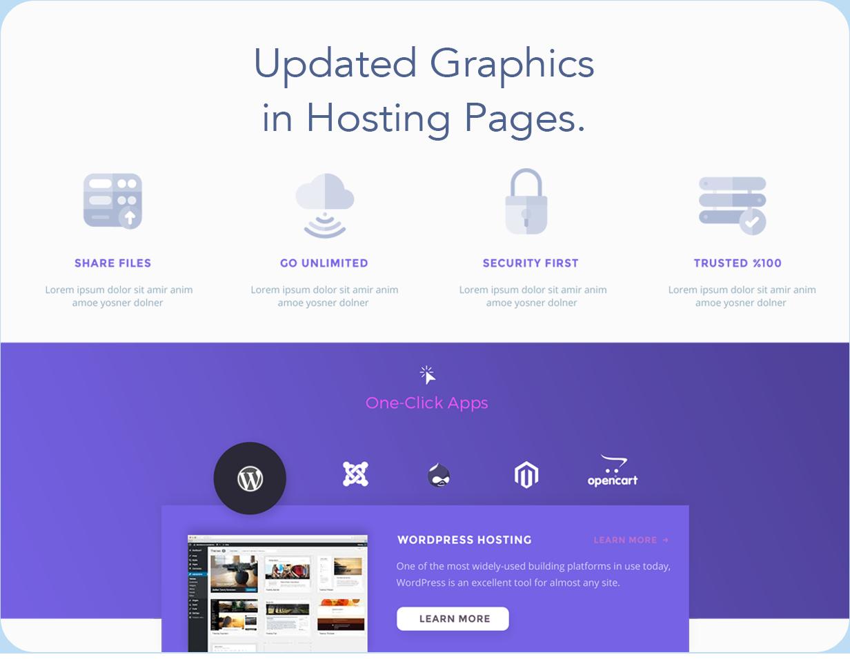 Hostify — Hosting HTML & WHMCS Template - 12