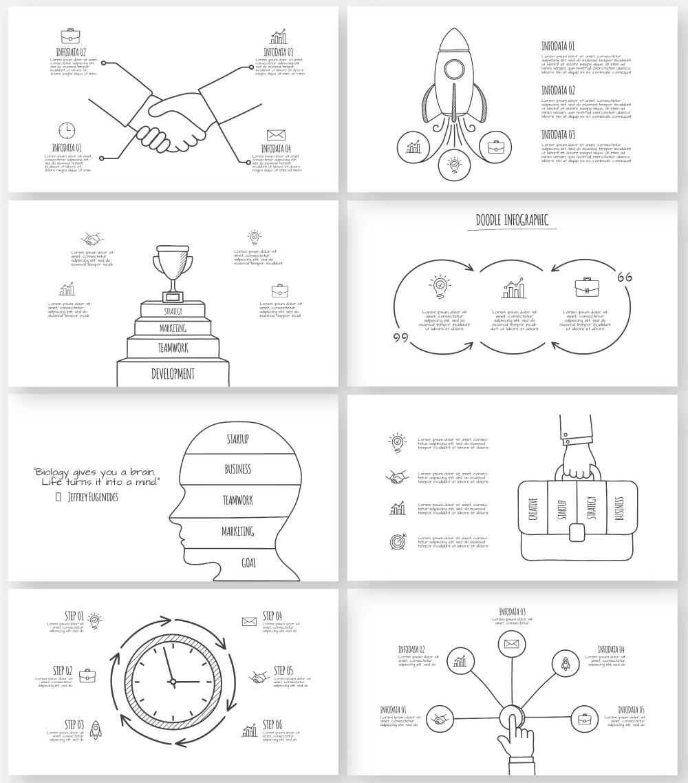Multipurpose Infographics PowerPoint Templates v.5.0 - 151