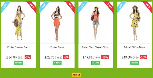 Sale Product - Prestashop Module