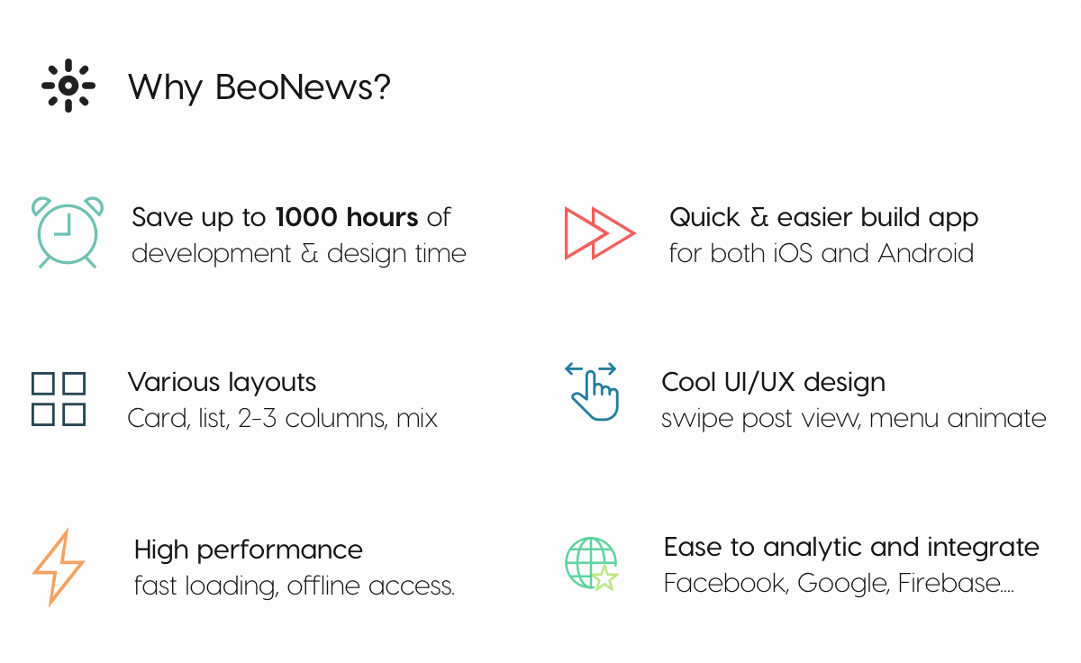 BeoNews Expo - React Native mobile app for Wordpress - 10