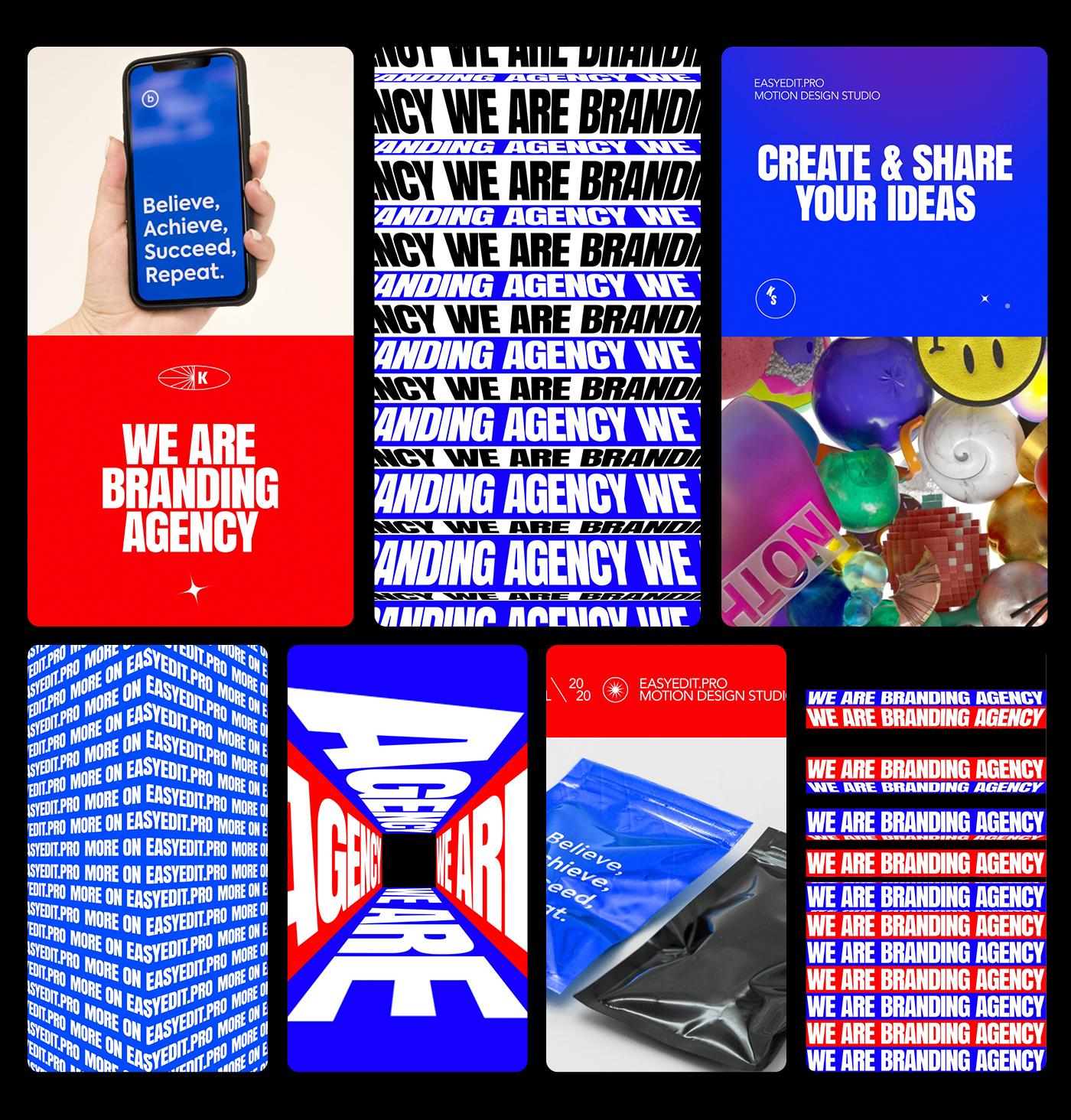 AE脚本-200多个创意文字标题排版时尚宣传视频包装动画工具包 Kinetic Social Pack for Win/Mac破解版插图17