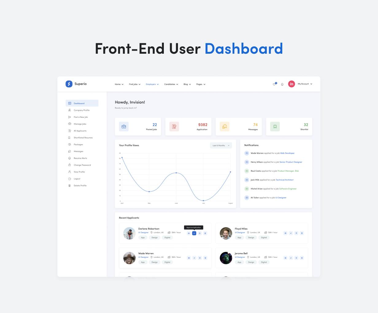 Superio – Job Board WordPress Theme - 9
