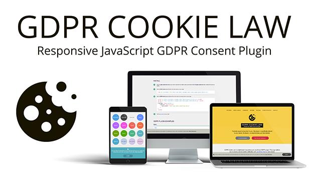 GDPR Çerez Yasası - JavaScript EU Kurabiye onayı Eklentisi