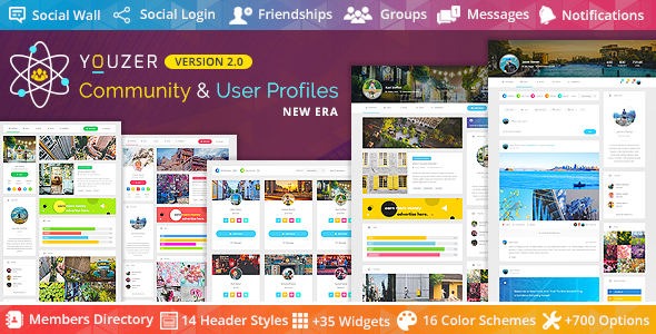 Youzer - Wordpress Community & User Profiles Wordpress Plugin