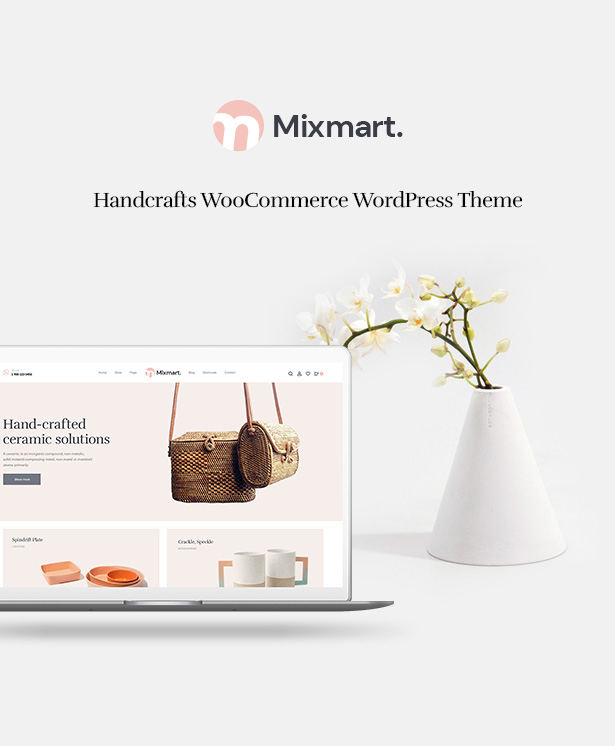 Mixmart - Handmade Shop WordPress WooCommerce Theme