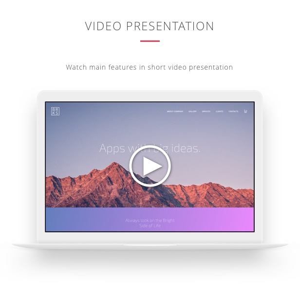 Brooks WP – Creative Multi-Purpose WordPress Theme. Watch Brooks video presentation.