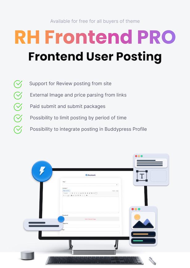 Frontend submit post wordpress