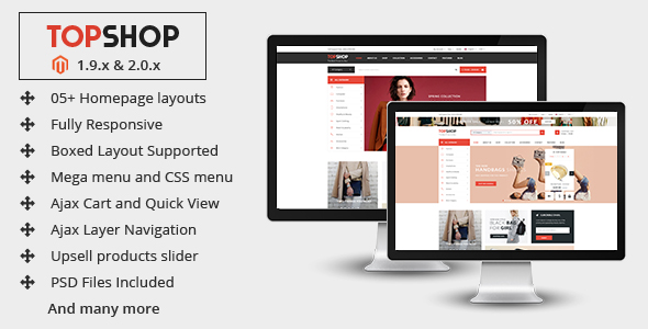 Best Hi-Quality Responsive Magento Themes on ThemeForest