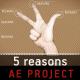 5 reasons - Logo Intro