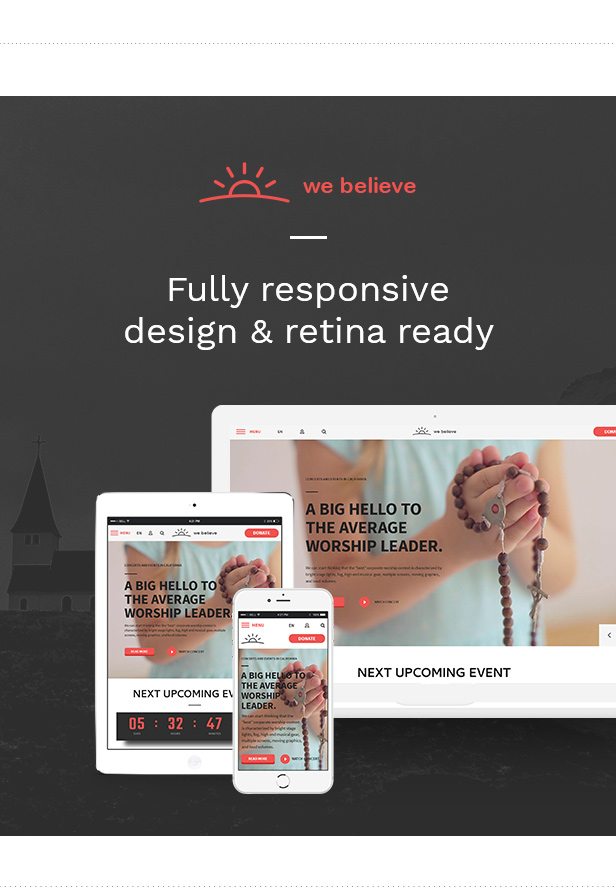 WeBelieve - Church, Charity, Nonprofit & Fundraising Responsive HTML5 Template - 7