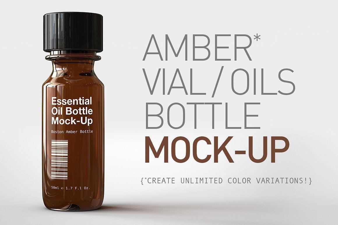 Tincture Bottle Mock-Up