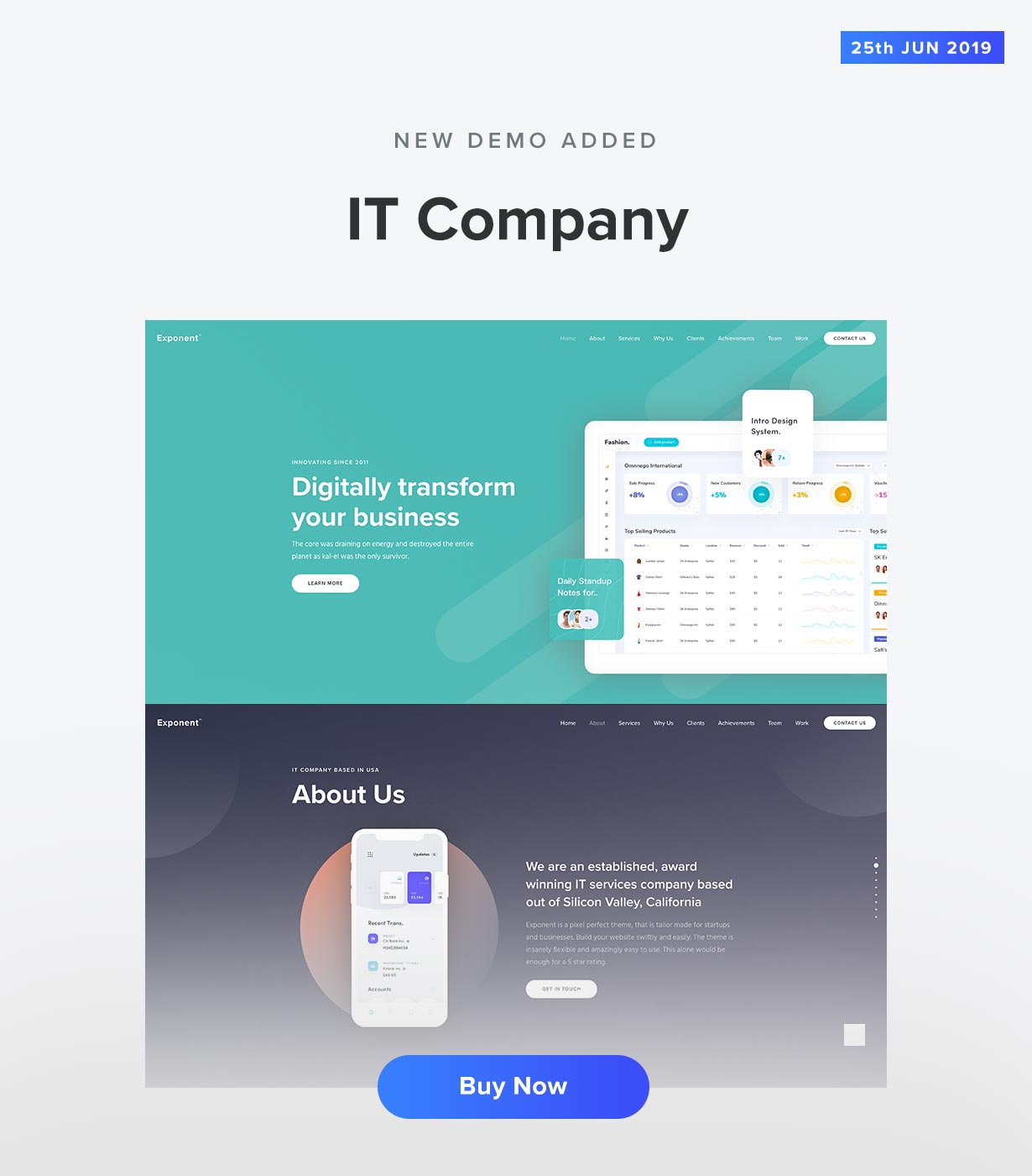 IT Company Demo