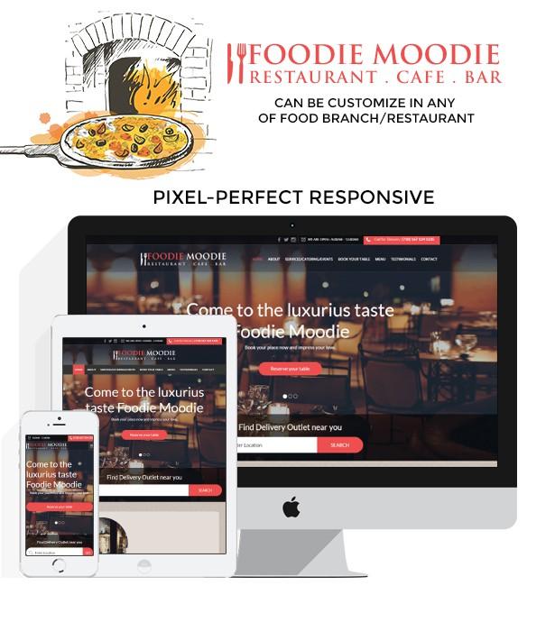 Foodie Moodie Restaurant Cafe Bar - 1